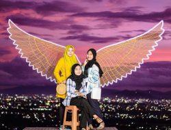 Taman Langit Lombok, Melihat Panorama Malam Kota Mataram dari Ketinggian