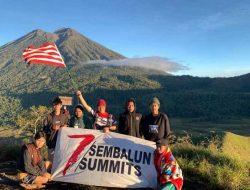 Dalam 5 Hari, Perwira TNI Ini Sukses Daki 7 Summit Sembalun dan Rinjani